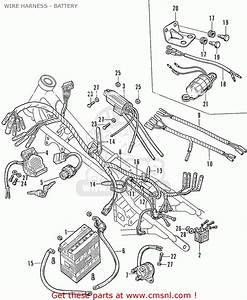 Honda Cb160 Sport General Export Wire Harness