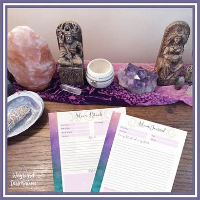 Moon Self Care Way Journaling Easy Sacred