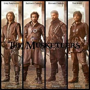 THE MUSKETEERS (BBC, 1 season, 2014- ) is a dramatic ...