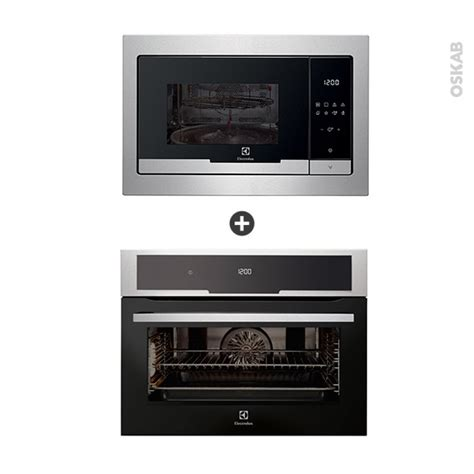 pack electromenager cuisine pack électroménager design four pyrolyse evk5840aax micro