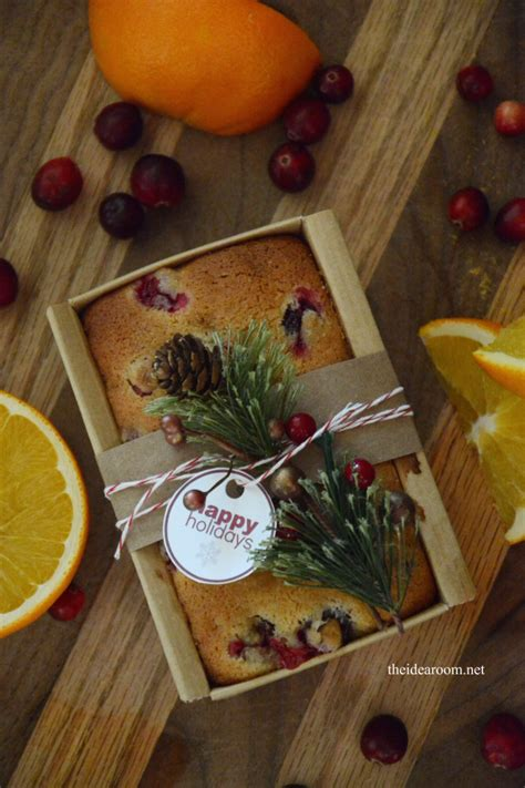creative ways  package holiday desserts  idea room