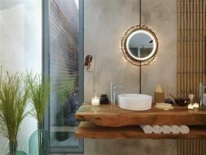 salle de bain cocooning en quelques idees d39inspiration With salle de bain design avec fournisseur bougies décoratives