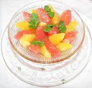 ma cuisine ma sant 233 menu du jour recette salade d orange 224 la cannelle et 224 la fleur d