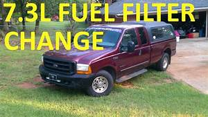 How To Change Fuel Filter On 7 3 Powerstroke