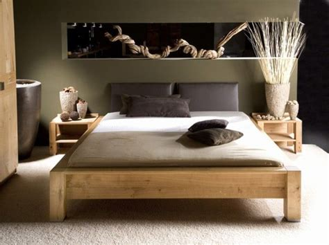 schlafzimmer ideen holzbett holzbett capo bedroom feng shui schlafzimmer