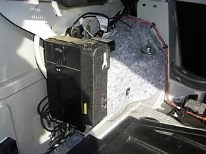 Speaker Wiring In Trunk