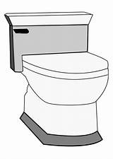 Toilet Coloring Pages Printable 88kb 750px sketch template
