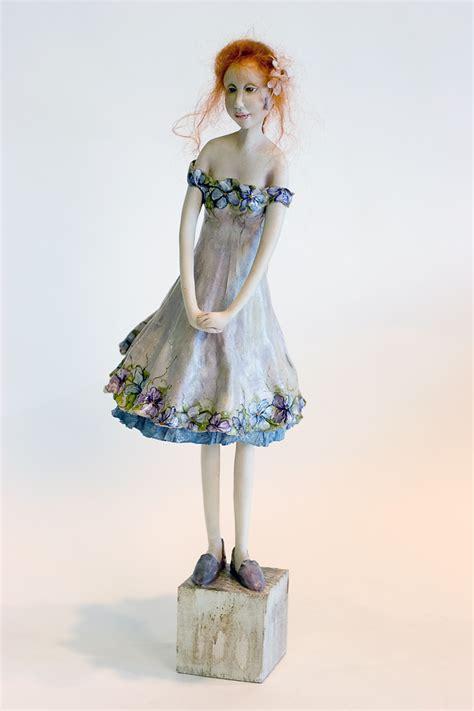 fiola paperclay    kind art doll  yvonne flipse