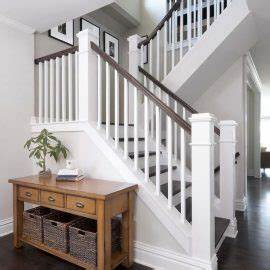 Interior Home And Decorating Ideas For Hall Stairs And