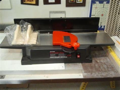 craftsman benchtop jointer planer tools diy chatroom