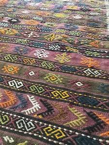 tapis kilim en laine balikesir turquie luckyfind With tapis kilim turquie