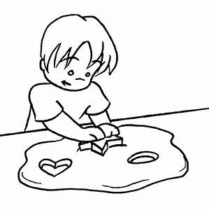 Playdough Black And White Clipart - Clipart Suggest