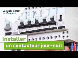 Contacteur Jour Nuit : le branchement d un contacteur jour nuit ~ Dallasstarsshop.com Idées de Décoration