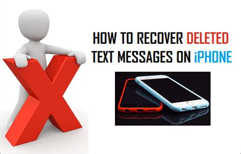 recover messages on iphone how to recover deleted text messages on iphone