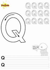Buchstaben, Schreiben, Lernen, Arbeitsbl, U00e4tter, U2013, Buchstabe, Q