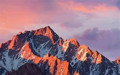 Apple 4k Mountain Sierra Sunset Macbook Desktop