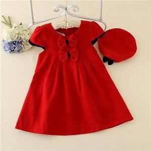 Red Baby Girl Dress Design Winter Kids Wear,Children ...