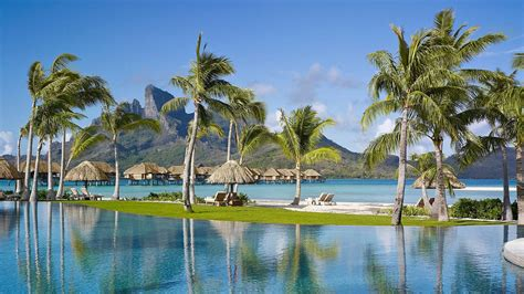 Four Seasons Bora Bora Resort Tahiti Vacations Bora