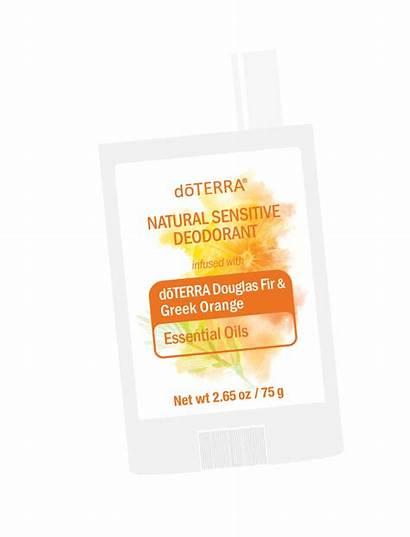 Doterra Oils Essential Orange Fir Sticker Douglas