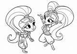 Shimmer Shine Coloring Printable Colouring Lovely Disney Rocks Cartoon Sheets Characters Zeta Nick Categories Jungle King članok Prevzatý sketch template