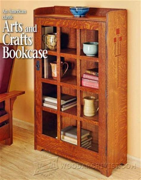 Arts And Crafts Bookcase Plans - 339 arts crafts rocking chair plan woodarchivist