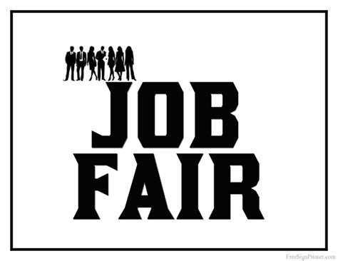 Printable Job Fair Sign. Effects Signs. Breath Signs. Group A Signs. Magnesium Signs. Lexapro Signs. Maksud Signs. Premature Infants Signs. Cast Iron Signs Of Stroke
