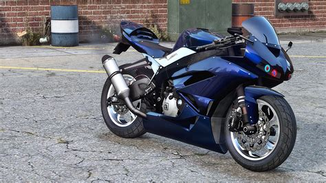 Modified Zx6r by Kawasaki Zx6r Modified Gta5 Mods