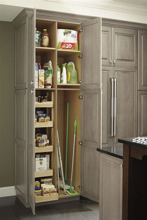 Tall Utility Cabinet Combination with Roll Out Trays   Omega