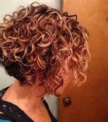 image result  stacked spiral perm  short hair curly