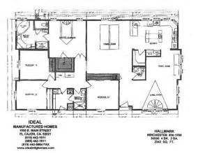 wide mobile home floor plans ideal mfg homes manufactured and modular homes serving
