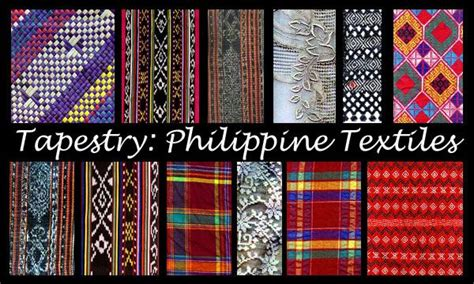 philippine tribal textiles images  pinterest