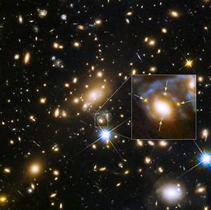 Hubble Views Multiple Images of a Highly Magnified ...