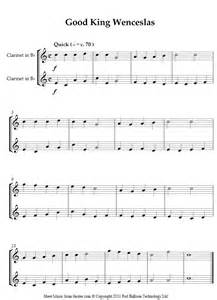 Clarinet Sheet Music for Beginners Songs