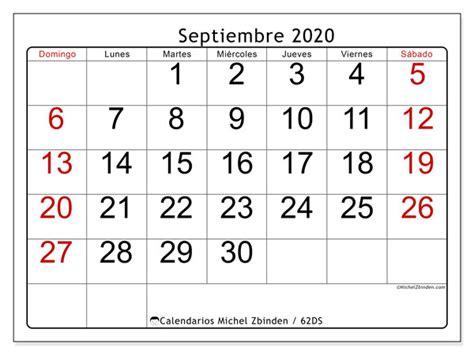 calendario septiembre ds michel zbinden es