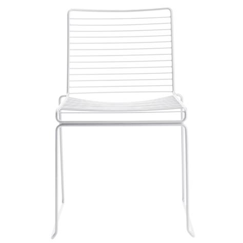 hay hee dining chair white design shop