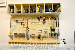 Slat Tool Wall // Tool Holders (John Heisz Design) - YouTube