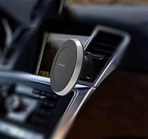 Chargeur Voiture Iphone : chargeur voiture qi iphone x 8 chargeur sans fil magnetique iphone ~ Dallasstarsshop.com Idées de Décoration
