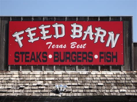 The Feed Barn by Tasty Travels Feed Barn Bryan