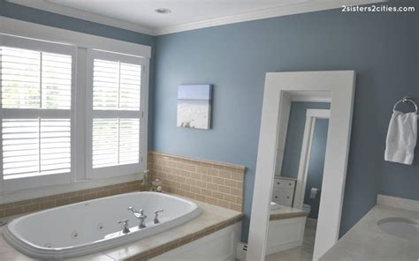 Master Bedroom And Bathroom Colors by Master Bathroom Paint Color Jamestown Blue Color