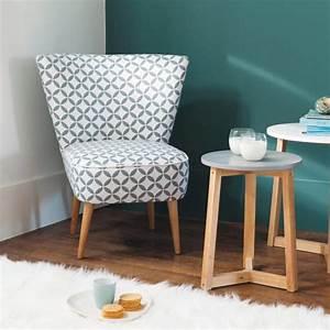 Petit Fauteuil Salon : petit fauteuil lequel choisir marie claire maison ~ Teatrodelosmanantiales.com Idées de Décoration