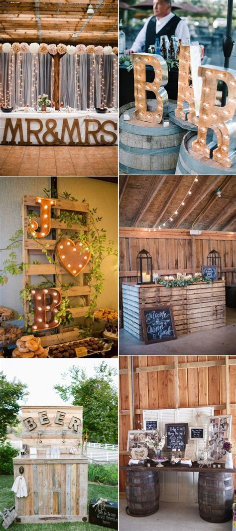 rustic wedding arches ideas  pinterest rustic