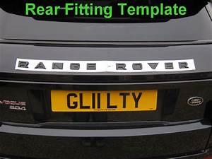 gloss red range rover evoque lettering upgrade kit front With range rover evoque lettering kit