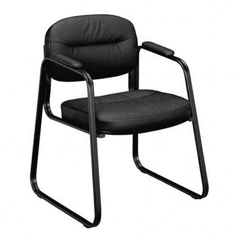 hon basyx leather guest chair bsxvl653st11 guest