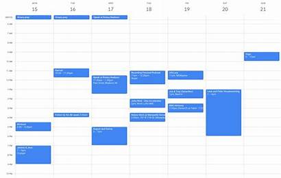 Calendar Template Creating