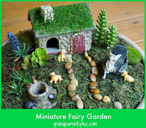 miniature garden grandparentsplus