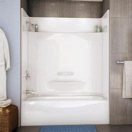 kentca maax bath essence ts   piece tub shower