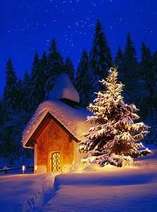 Artikel Vor Weihnachten : weihnachtliche nacht weihnachten mondnacht weihnachtszeit ~ Haus.voiturepedia.club Haus und Dekorationen