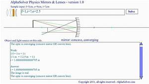 How To Draw Ray Diagrams For Mirrors And Lenses