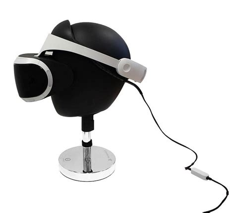 un superbe support pour casque sony playstation vr