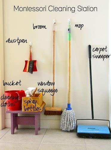 montessori inspired sweeping activities